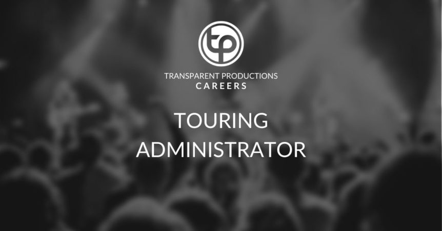 Transparent Productions Touring Administrator Position