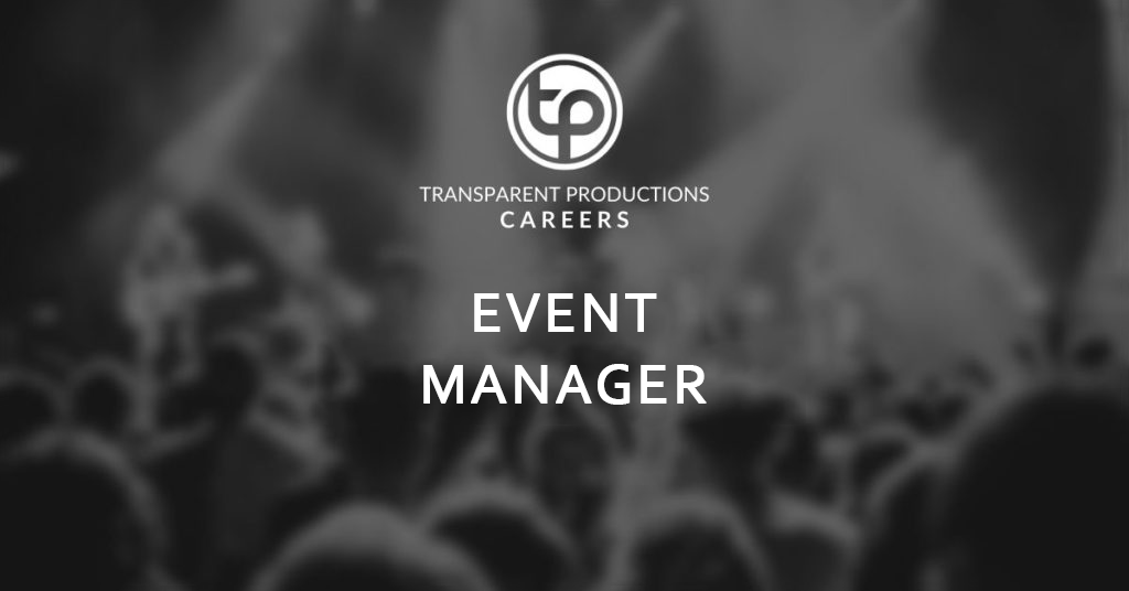 Transparent Productions Event Manager